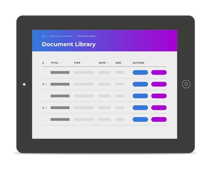 Self-service document library